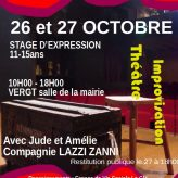 STAGE DE THEATRE 26-27 Octobre 2020