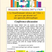 Causerie avec Serge Added : 15 octobre 2017