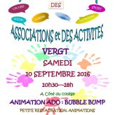 Forum des Associations : 10 septembre