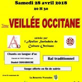 Veillée Occitane à Bordas : 28 Avril 2018